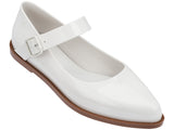 Melissa Women's white jelly closed shoes with strap