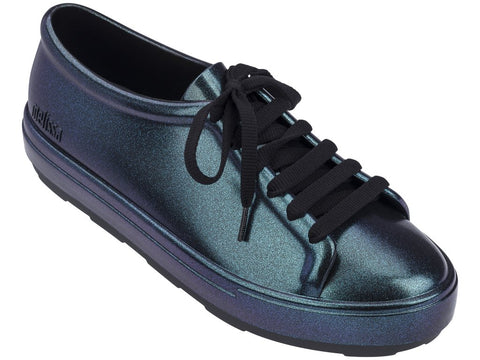 Melissa Women's iridescent blue sneakers