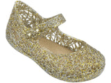 Melissa Kids gold jelly sandals