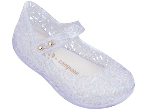 Melissa Kids white jelly sandals