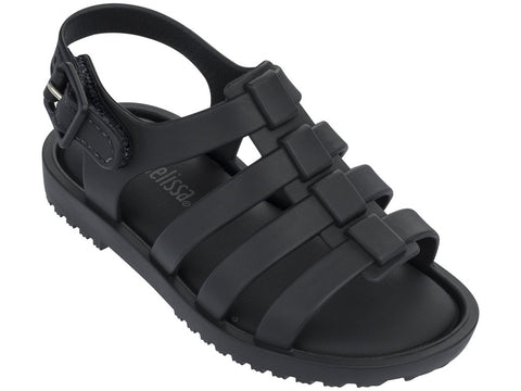 Melissa kid's black jelly sandals with strap