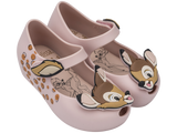 Melissa Kids pink jelly sandals with bambi face