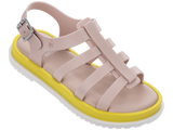 Melissa Kid's pink jelly sandals with strap