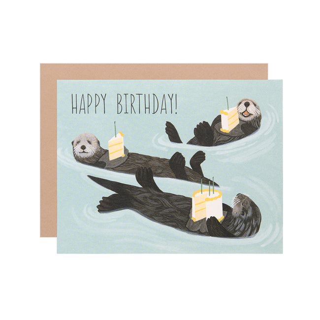 Birthday Otter
