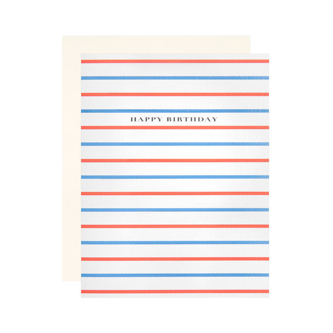 Birthday Stripes