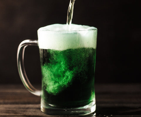 Have a green beer to celebrate St. Patrick's Day!