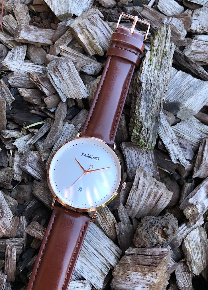 Brown | Gold Classic Leather Watch