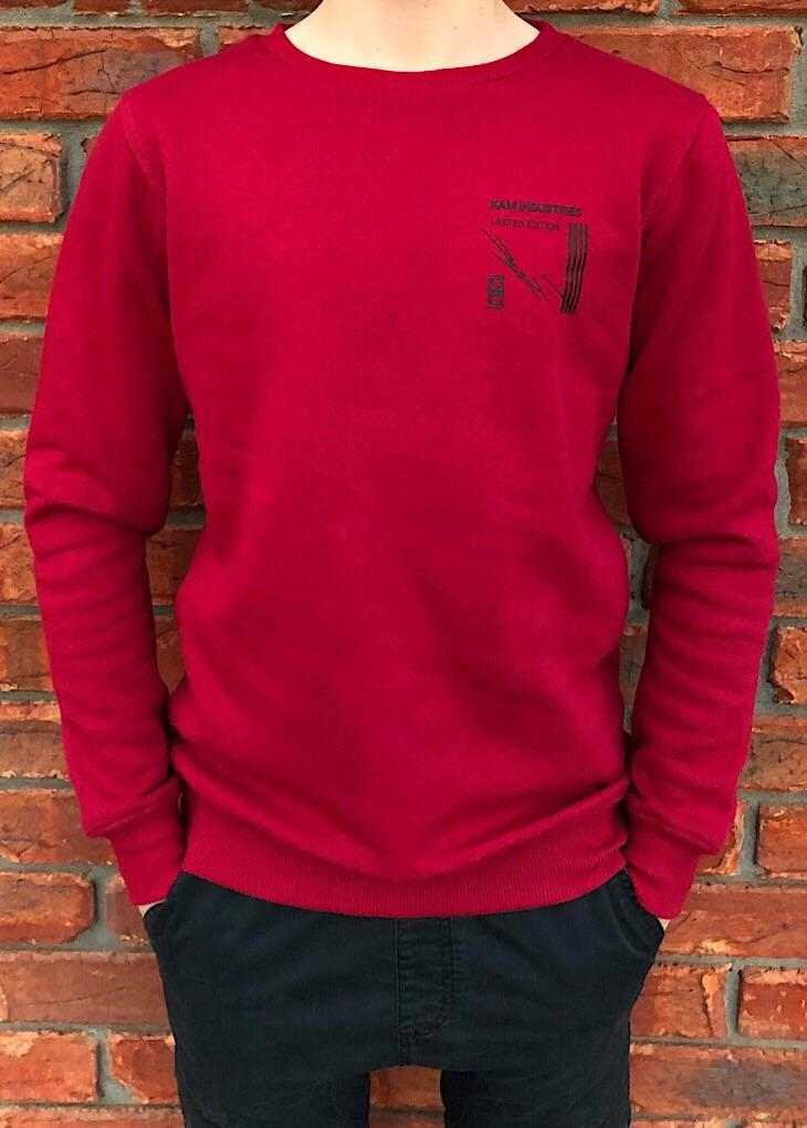 Burgundy Limited Edition Crew Neck