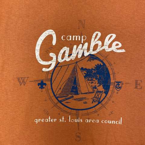 T-Shirt Orange Tent - Gamble