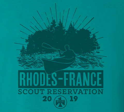 T-Shirt 2019 RFSR Camp - Teal