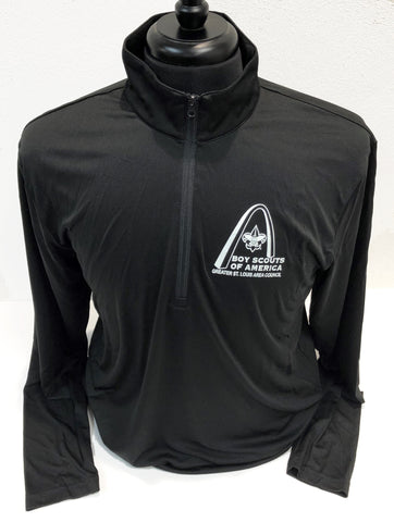 Shirt Pullover 1/4 Zip Tech - GSLAC Arch - Men's - Black