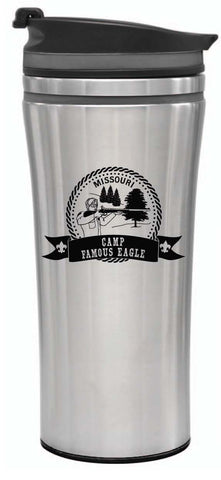 14 oz. Tumbler with Lid - Famous Eagle