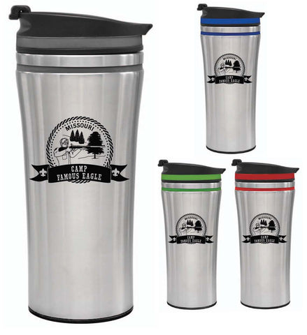 Tumbler 14 oz. with Lid - Famous Eagle