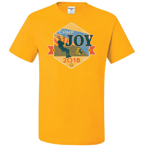 T-Shirt Yellow 2018 - Joy