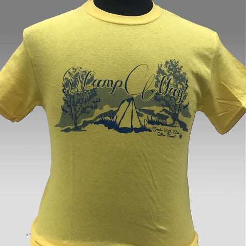 T-Shirt Yellow Outdoor Tradition - Camp May