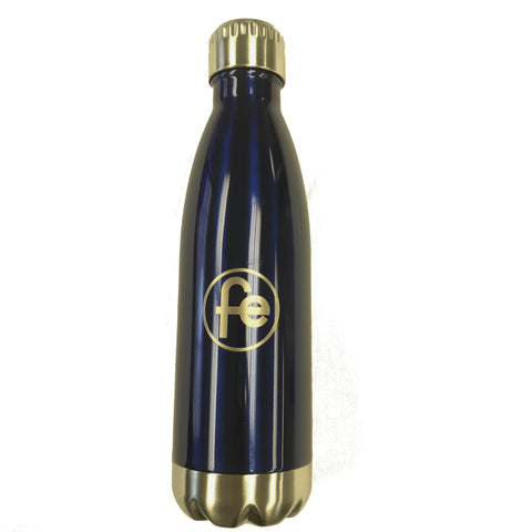 Water Bottle  Stainless Famous Eagle - blue