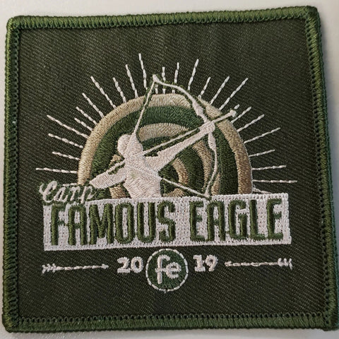 Emblem 2019 Famous Eagle Green Patch no loop
