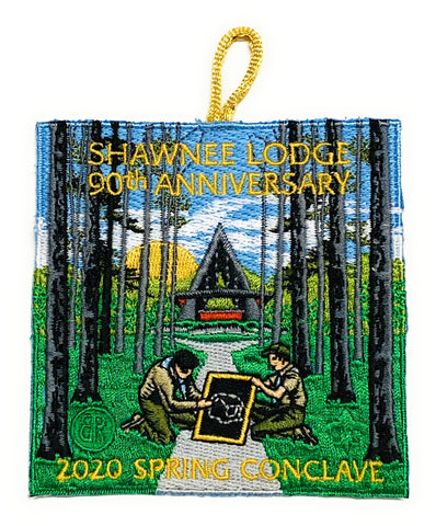 Emblem 2020 Spring Reunion 90th Anniversary Shawnee Lodge