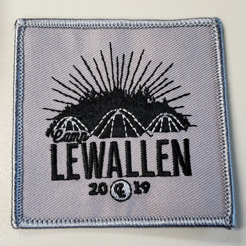 Emblem 2019 Lewallen Gray Patch no loop