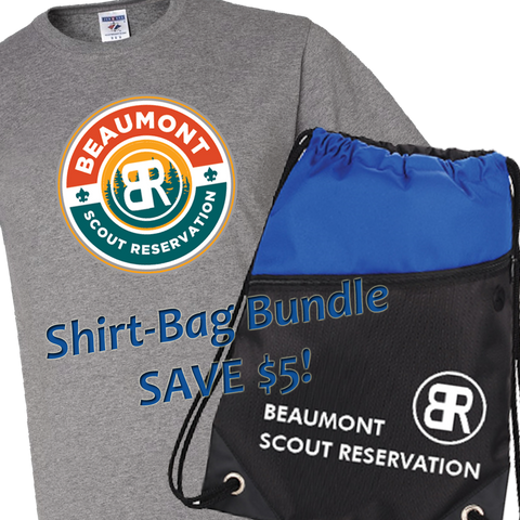 *Pre-Sale* Bundle Beaumont Camp Shirt and Drawstring Bag