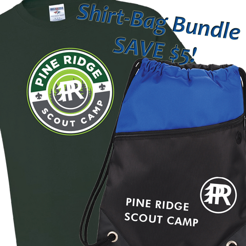 *Pre-Sale* Bundle Pine Ridge Camp Shirt and Drawstring Bag