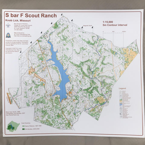 Map Orienteering - S bar F
