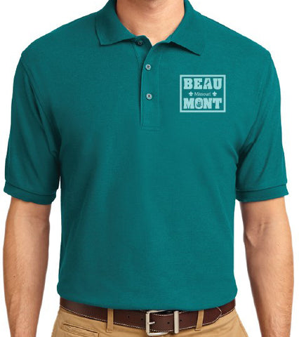 Shirt Polo Men's Teal - Beaumont
