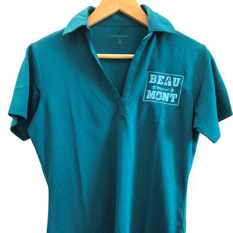 Women's Teal Polo Shirt - Beaumont