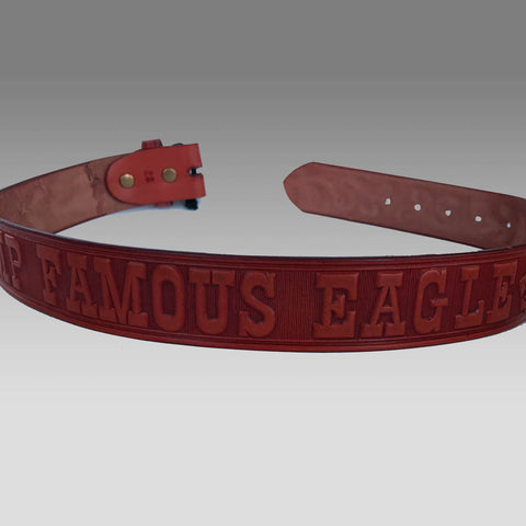 Belt - Leather Camp Famous Eagle