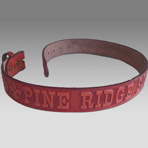 Belt - Leather Pine Ridge