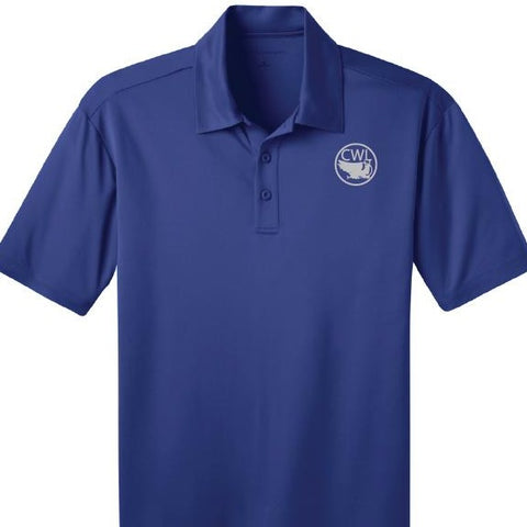 Men's Blue Polo Shirt - CWL