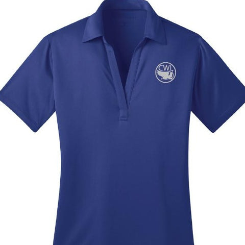 Shirt Polo Women's Blue - Camp Warren Levis