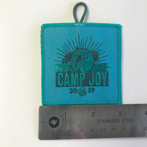 Emblem 2019 Joy Teal Patch
