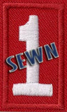 SEWN - Emblem Unit Number - Pack