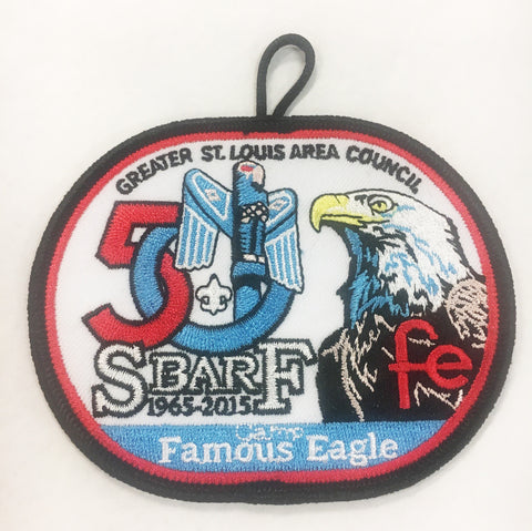 Emblem 50th Anniversary Patch - S bar F