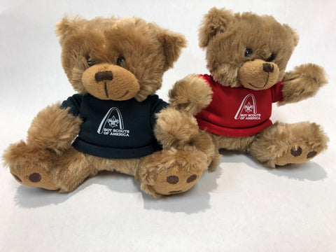 Teddy Bear in T-Shirt with GSLAC Arch Logo
