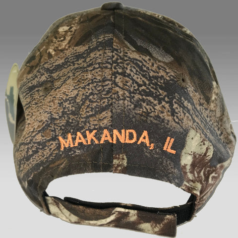 Hat Pine Ridge Camo Ball Cap