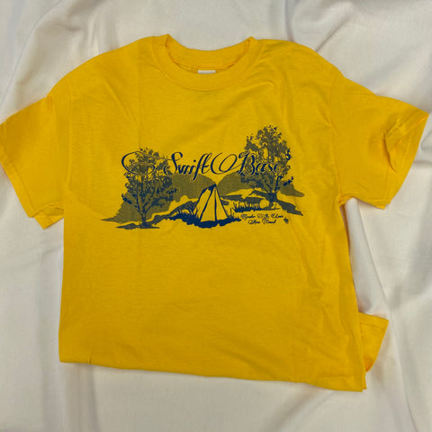 T-shirt Yellow Outdoor Traditions Swift Base