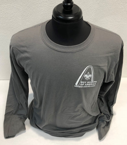 Shirt Long Sleeve  - GSLAC - Gray