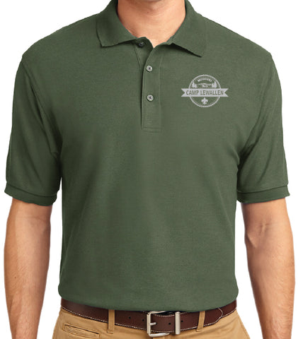 Shirt Polo Men's Green - Lewallen
