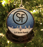 Ornament - Snow Globe - S-F