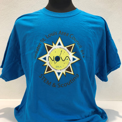 STEM - T-Shirt - Blue