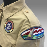Shirt Uniform Ladies Tan Scouts BSA - SEWN