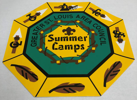 Sticker - GSLAC Summer Camp Segment Program - Large