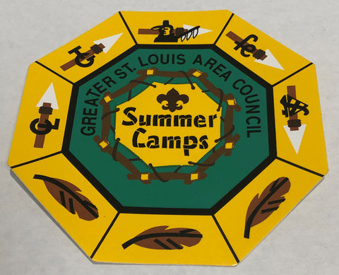 Sticker - GSLAC Summer Camp Segment Program - Small