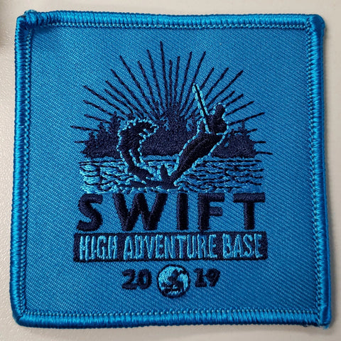 Emblem 2019 Swift Patch Blue no loop