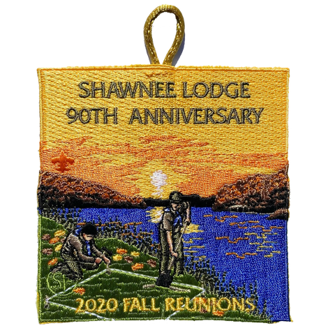 Emblem 2020 Fall Reunion 90th Anniversary Shawnee Lodge