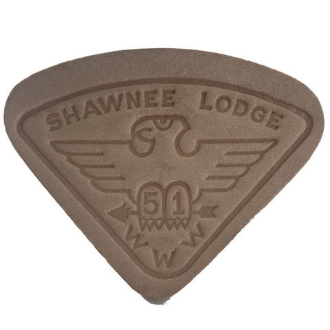 Slide Neckerchief  Leather - Shawnee Lodge