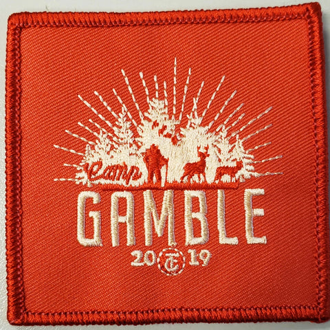 Emblem 2019 Gamble Patch Orange no loop