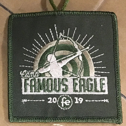 Emblem 2019 Famous Eagle green with loop